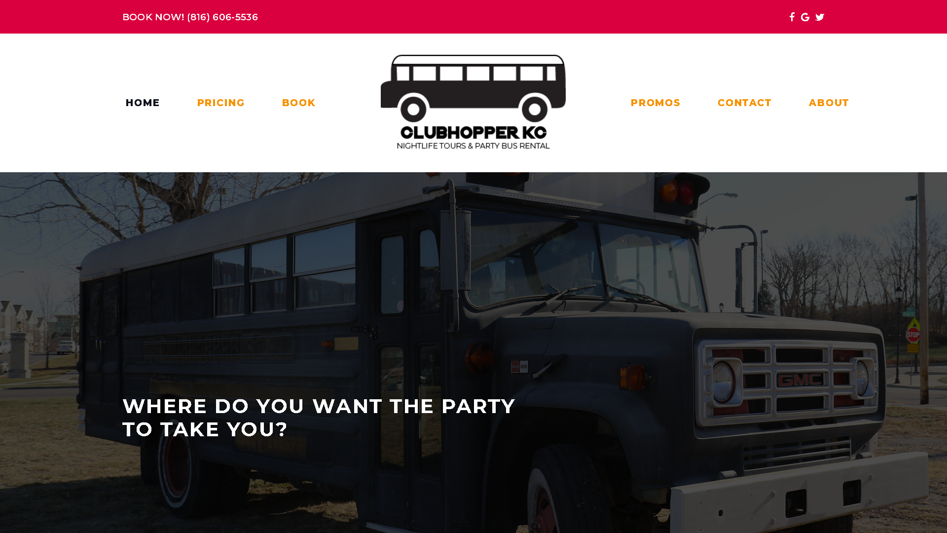 Clubhopper KC homepage