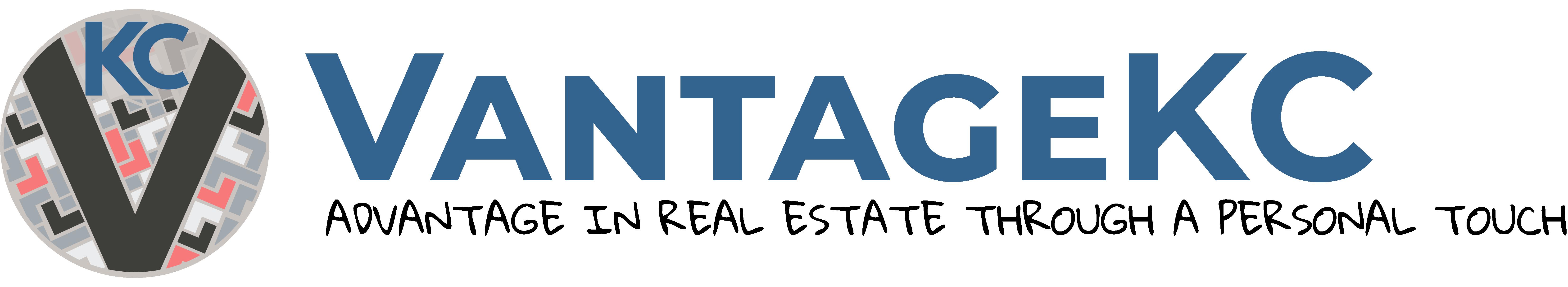 VantageKC Logo Horizontal Tagline