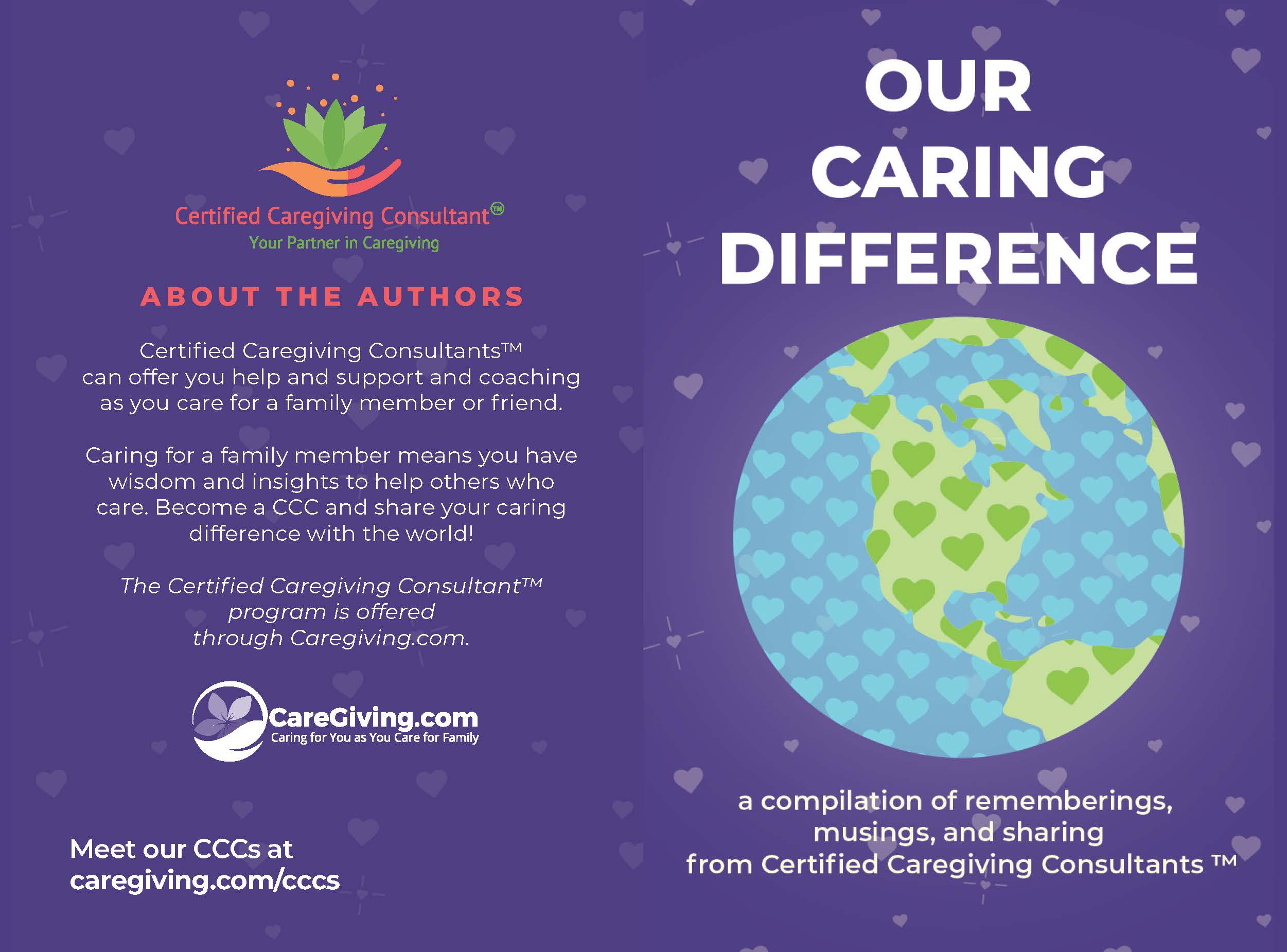 Cover: Our Caring Difference CCC Compilation Book