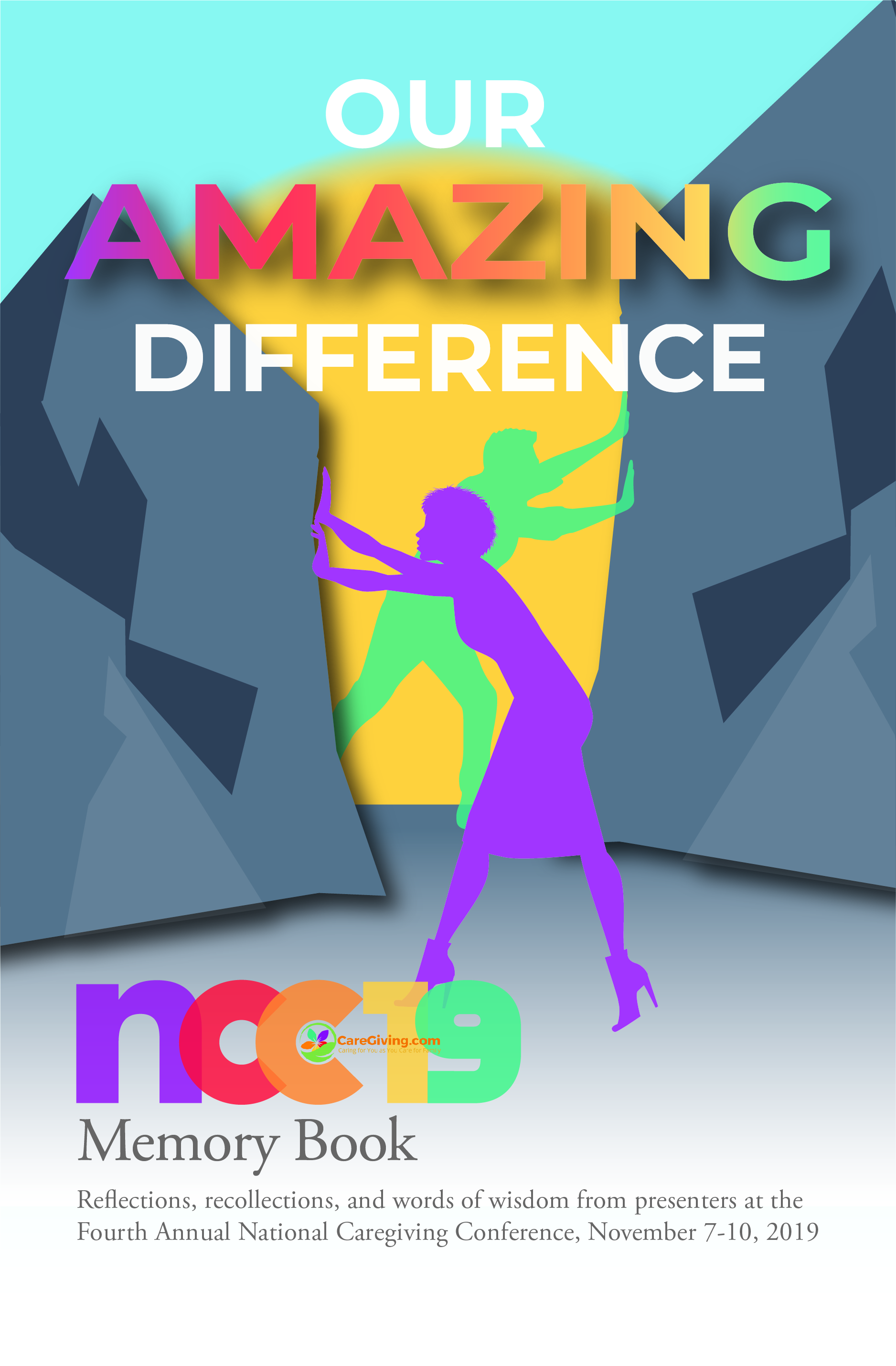 Our Amazing Difference Print book compilation cover